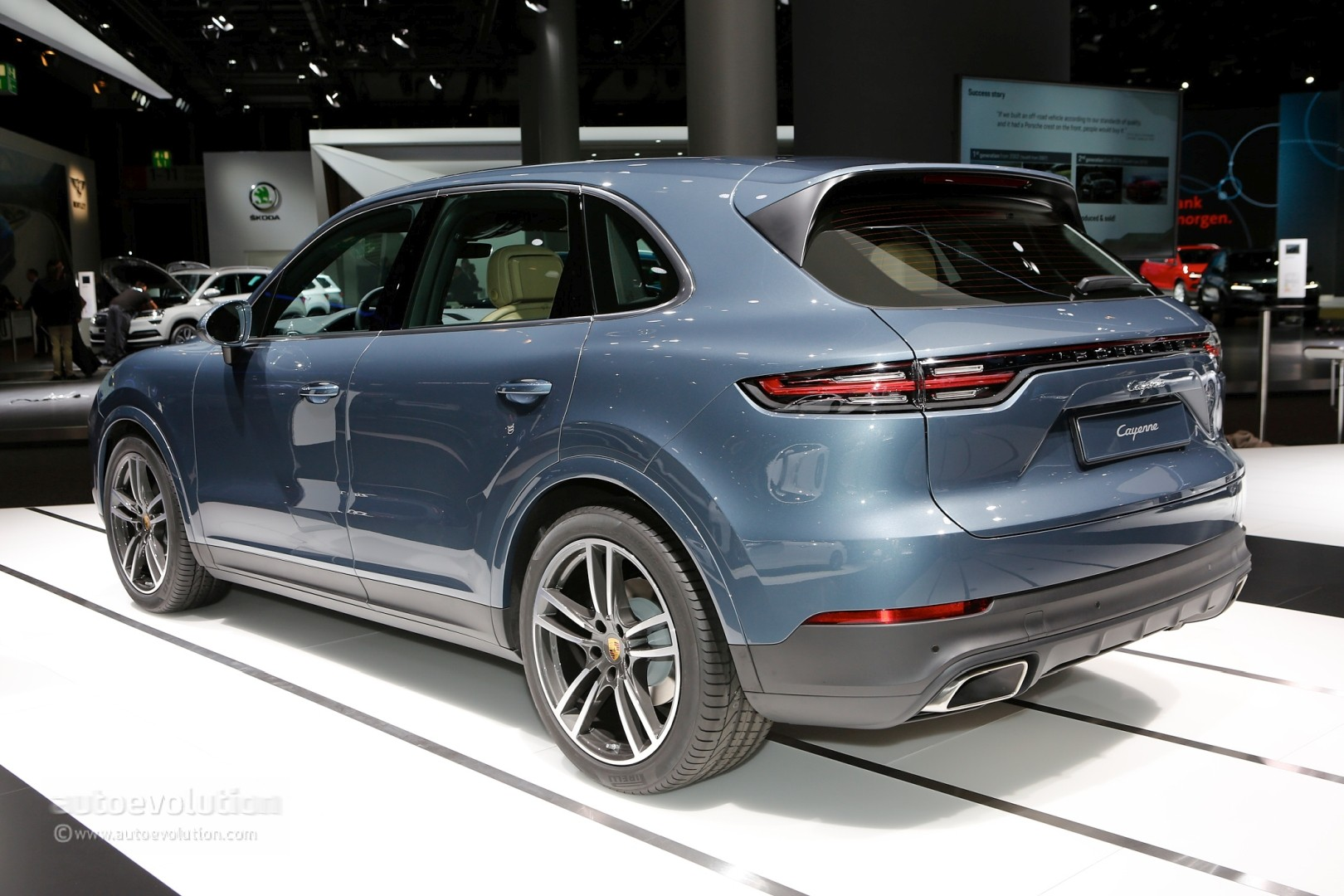 new porsche cayenne might get a v6 diesel after all. Black Bedroom Furniture Sets. Home Design Ideas