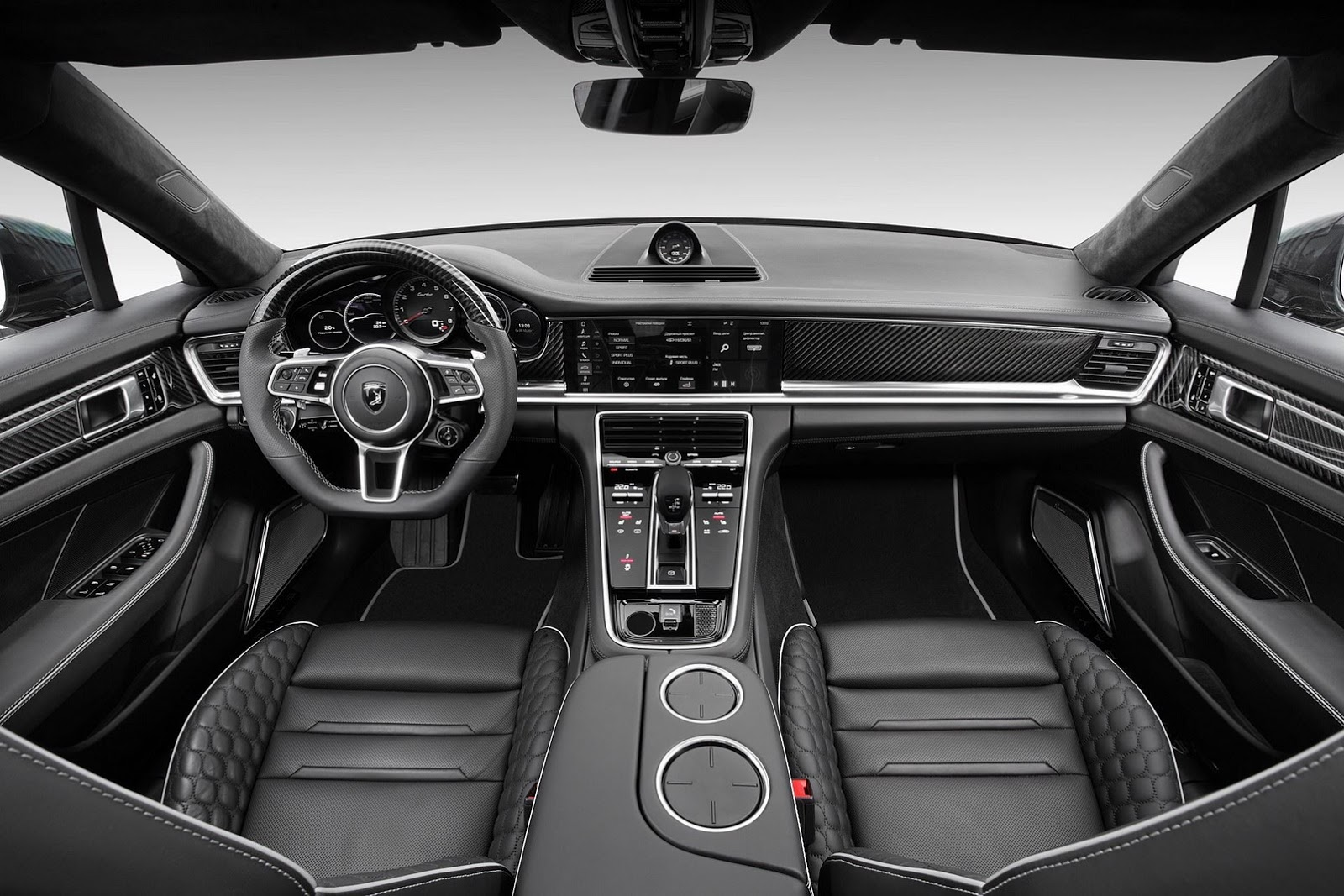 new porsche panamera turbo topcar tuning has custom interior costs 235 000 autoevolution. Black Bedroom Furniture Sets. Home Design Ideas