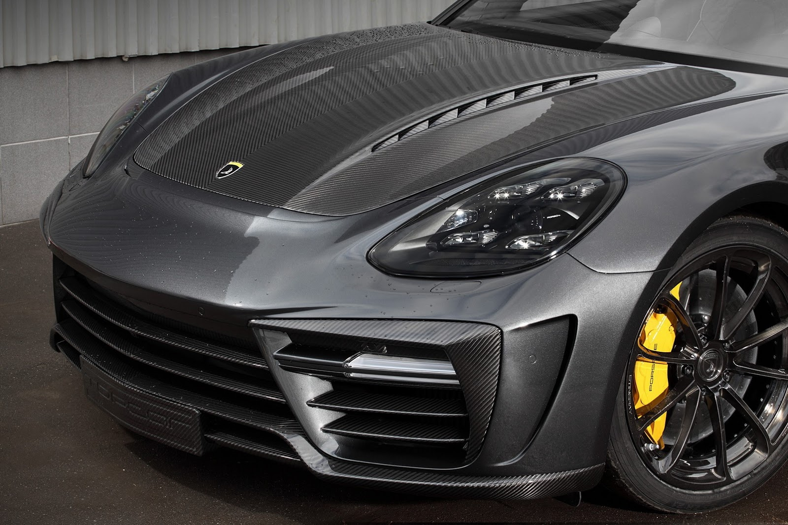 New Porsche Panamera Turbo Topcar Tuning Has Custom