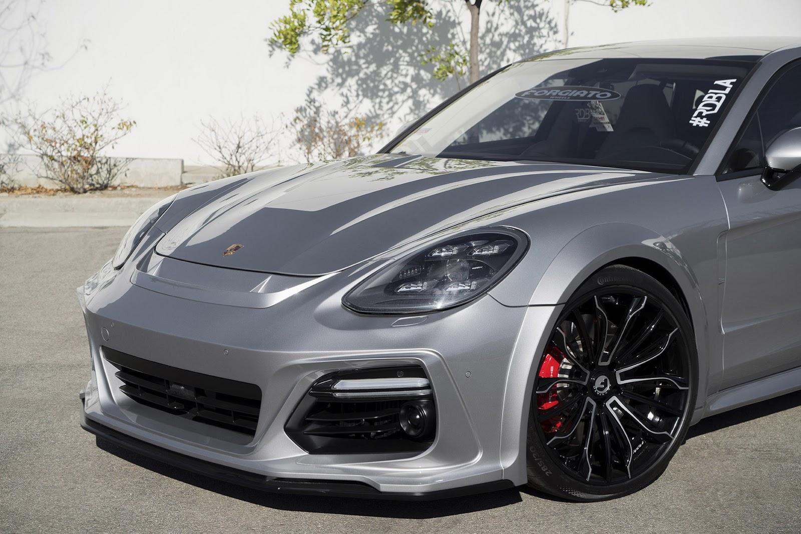 New Porsche Panamera Wears Techart Widebody Kit And