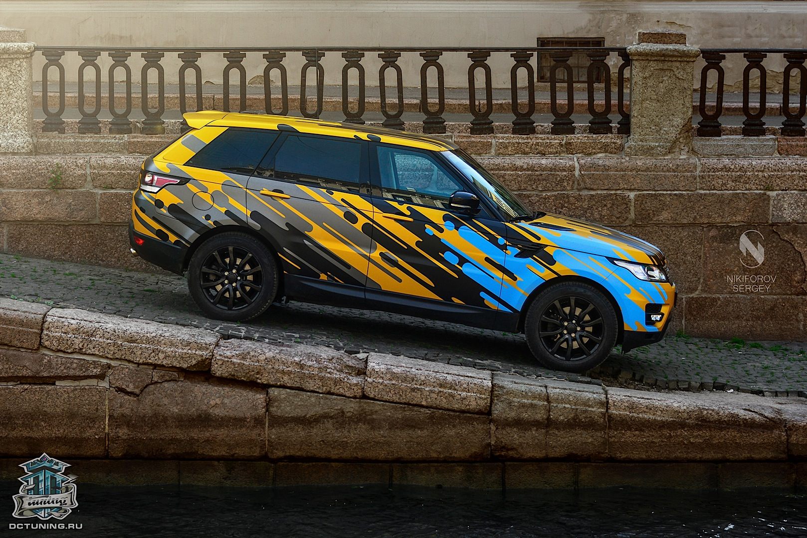 New Range Rover Sport Gets Crazy Heat Wave Wrap From Dc Tuning
