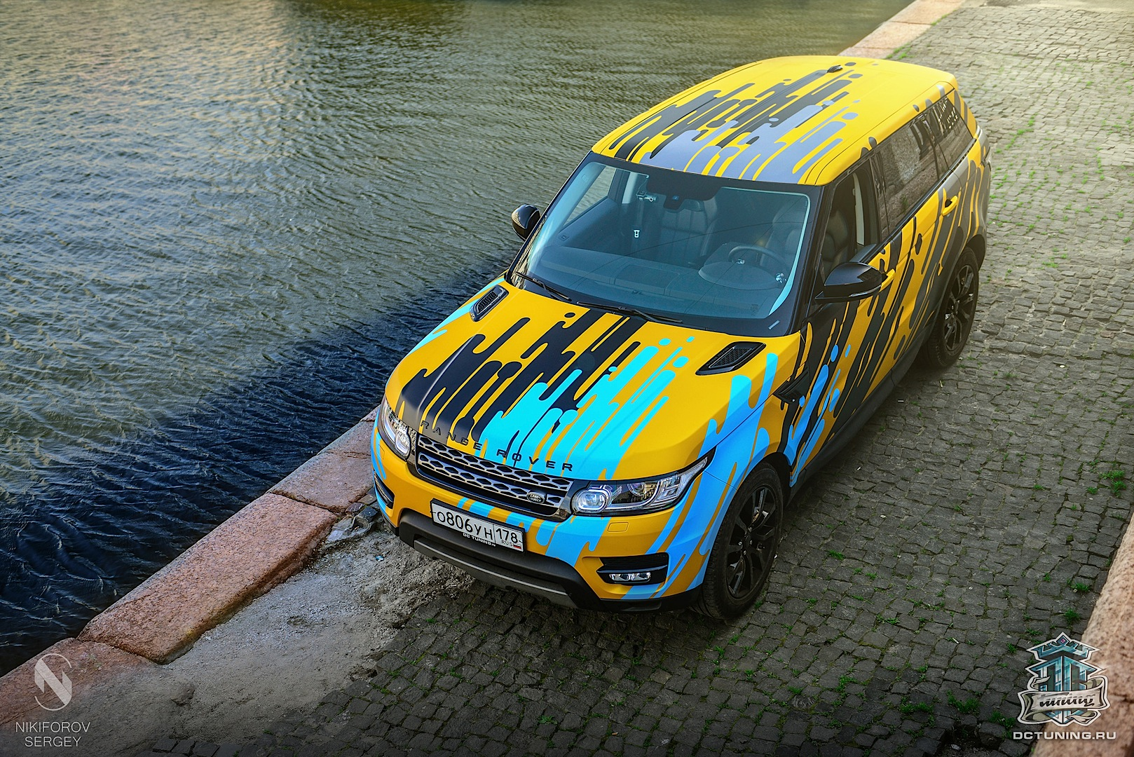 New Range Rover Sport Gets Crazy Quot Heat Wave Quot Wrap From Dc