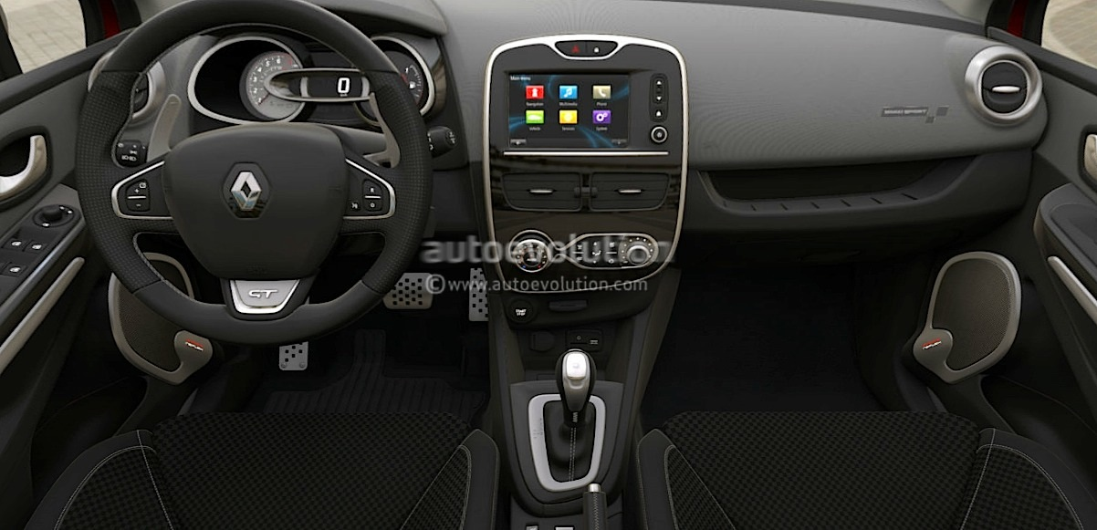 new renault clio gt scooped has 1 2 tce 120 turbo and edc autoevolution. Black Bedroom Furniture Sets. Home Design Ideas