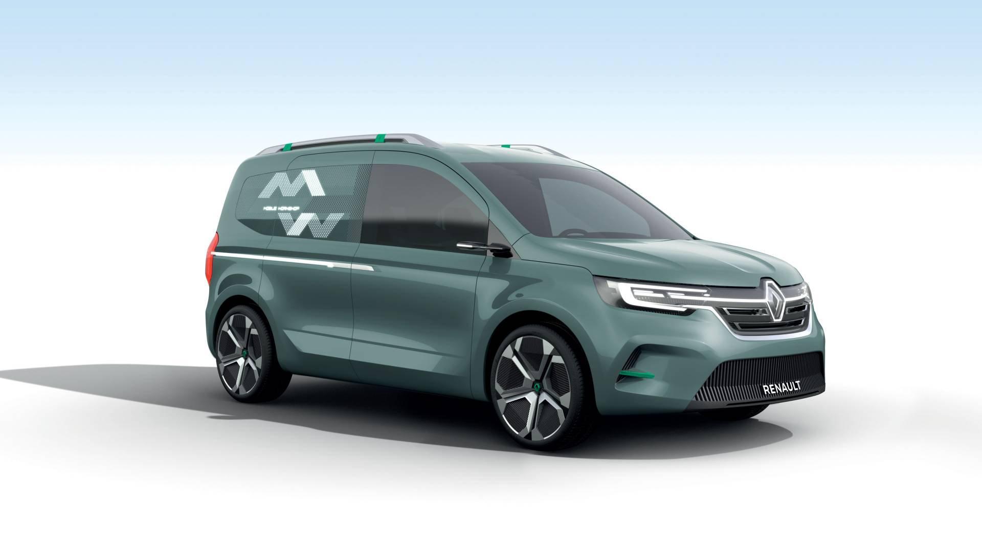 New Renault Kangoo Z.E. Concept Previews 2020 Production ...
