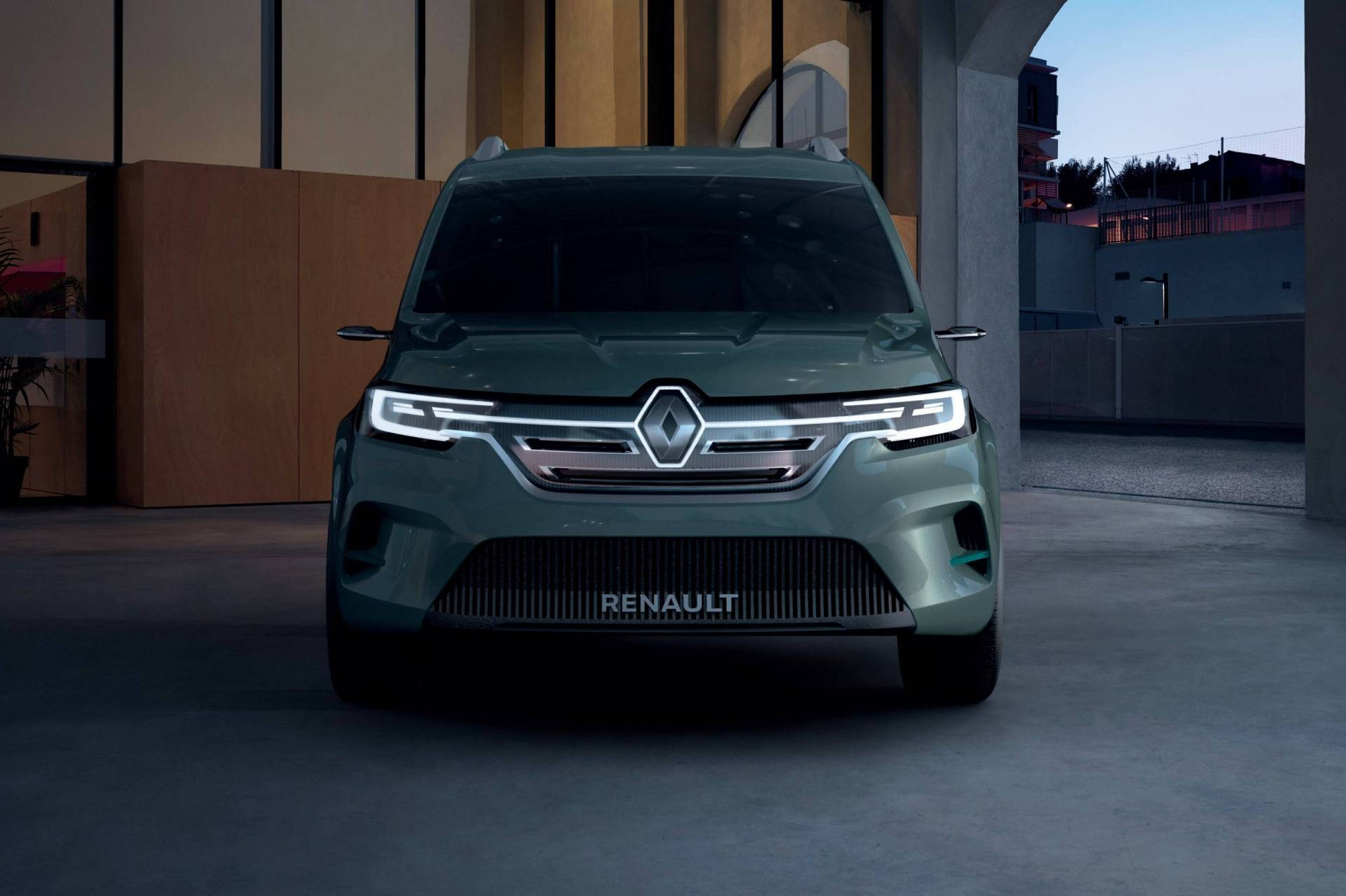 New Renault Kangoo Z.E. Concept Previews 2020 Production ...