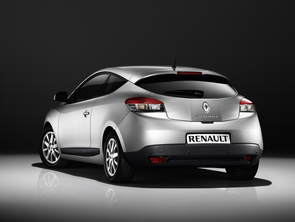 new renault megane hatch and coupe now mass produced. Black Bedroom Furniture Sets. Home Design Ideas