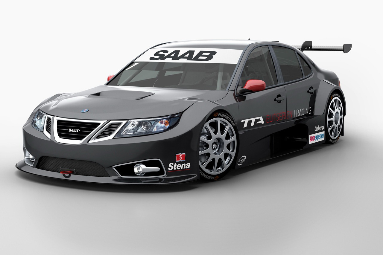 Ford Racing Parts >> New Saab 9-3 Sedans to Race in Swedish Touring Car ...