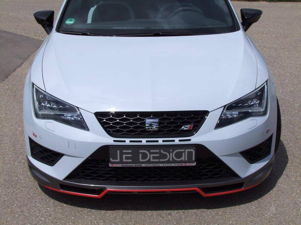new seat leon cupra tuned to 350 hp by je design. Black Bedroom Furniture Sets. Home Design Ideas
