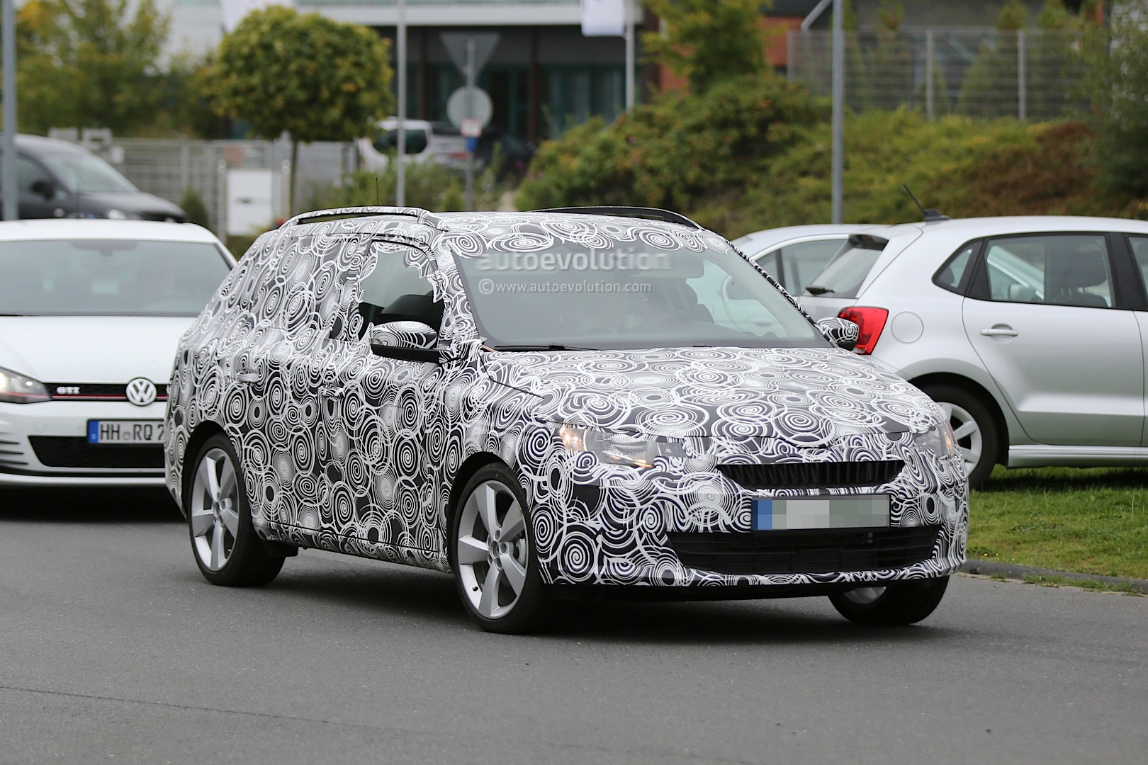 Different Suv Models >> New Skoda Fabia Combi Spied Testing at Nurburgring ahead of 2015 Debut - autoevolution