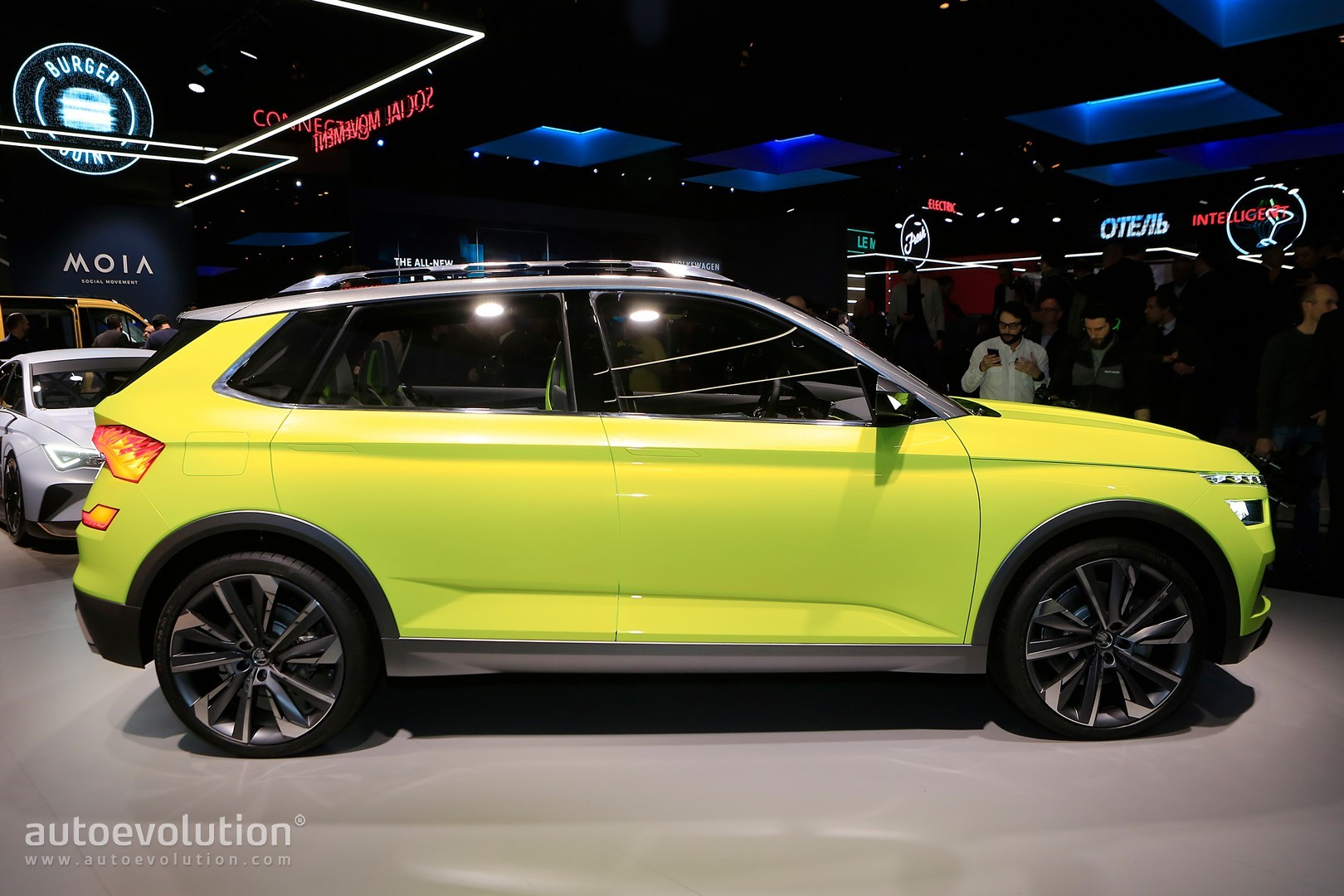 2019 Skoda Small Suv Previewed By Concept In Geneva Rides On New Rapid Platform