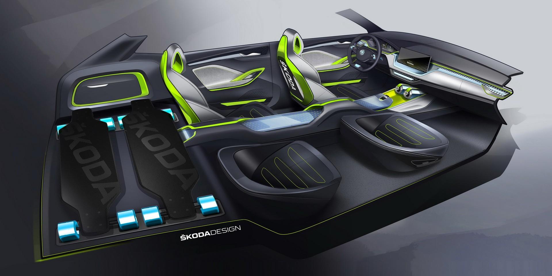 New Skoda Vision X Small SUV Will Debut At 2019 Geneva Motor Show - autoevolution