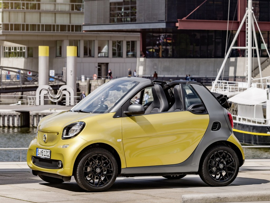 new smart fortwo cabrio priced in the u s from 19 650. Black Bedroom Furniture Sets. Home Design Ideas