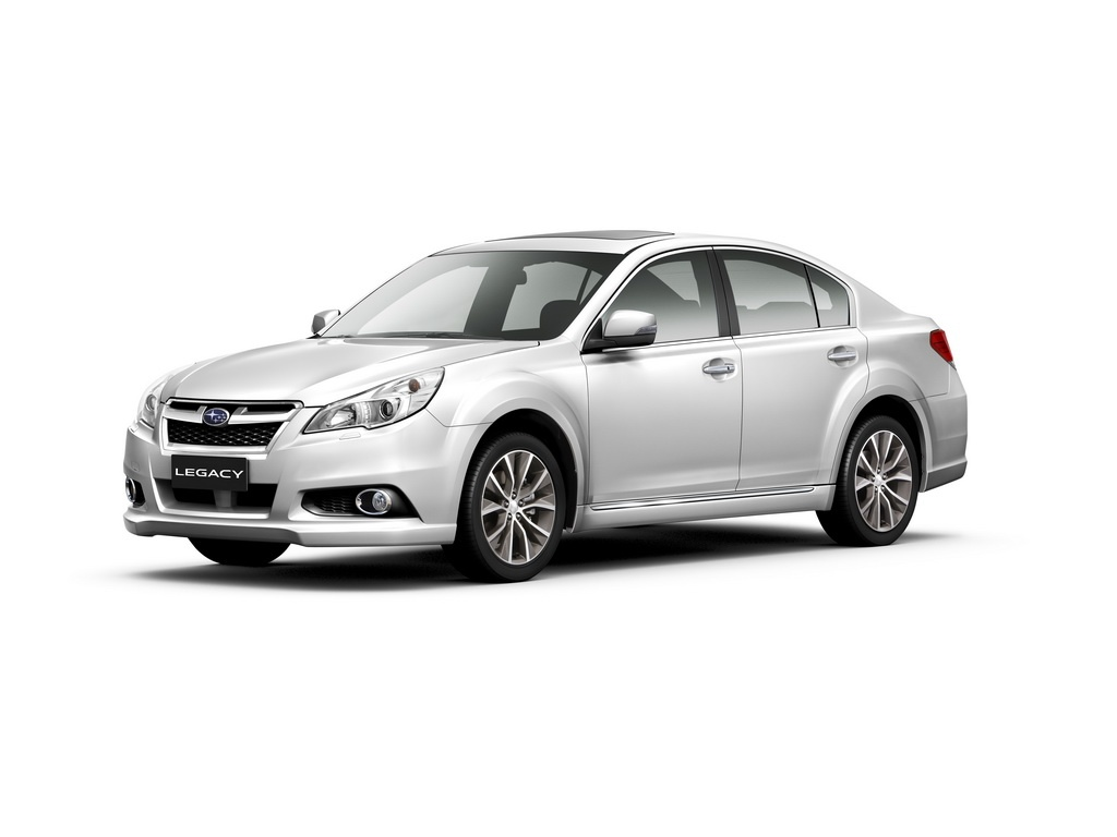 2013 subaru legacy outback get iihs top safety pick plus autoevolution. Black Bedroom Furniture Sets. Home Design Ideas