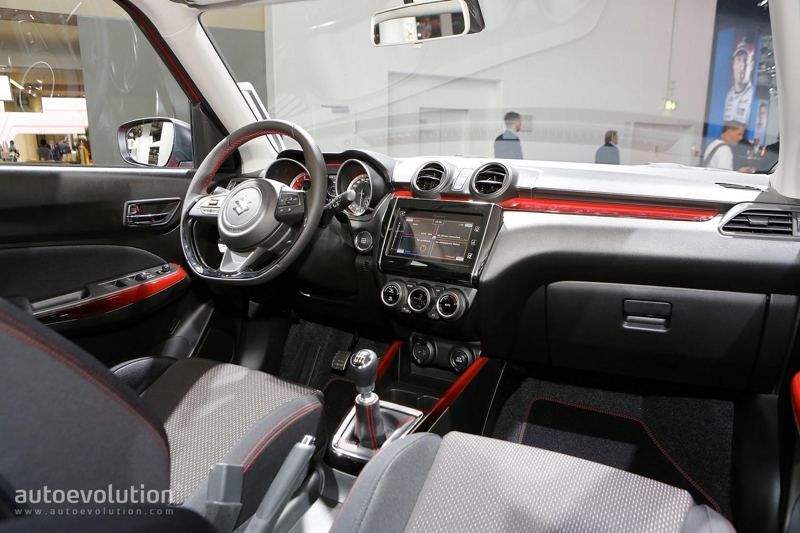 ... Suzuki Swift Sport Reveals 1.4 Turbo And Sexy Curves In Frankfurt ...