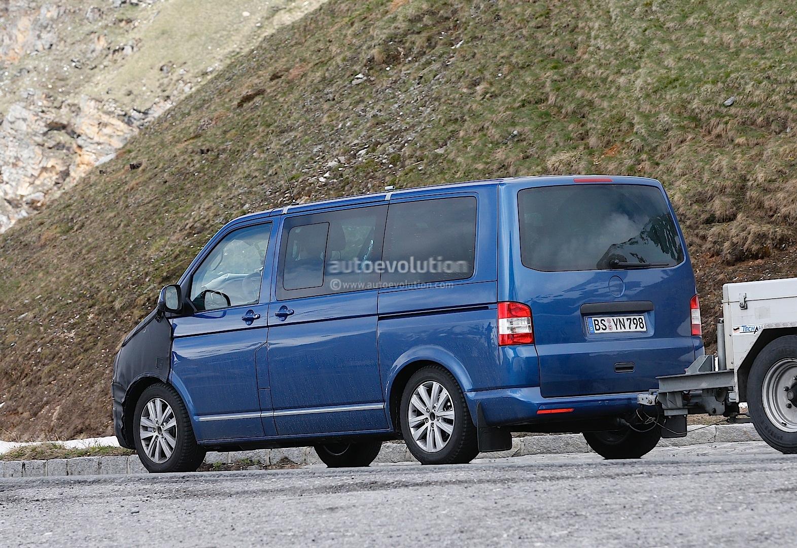 new t6 volkswagen transporter reveals more interior. Black Bedroom Furniture Sets. Home Design Ideas