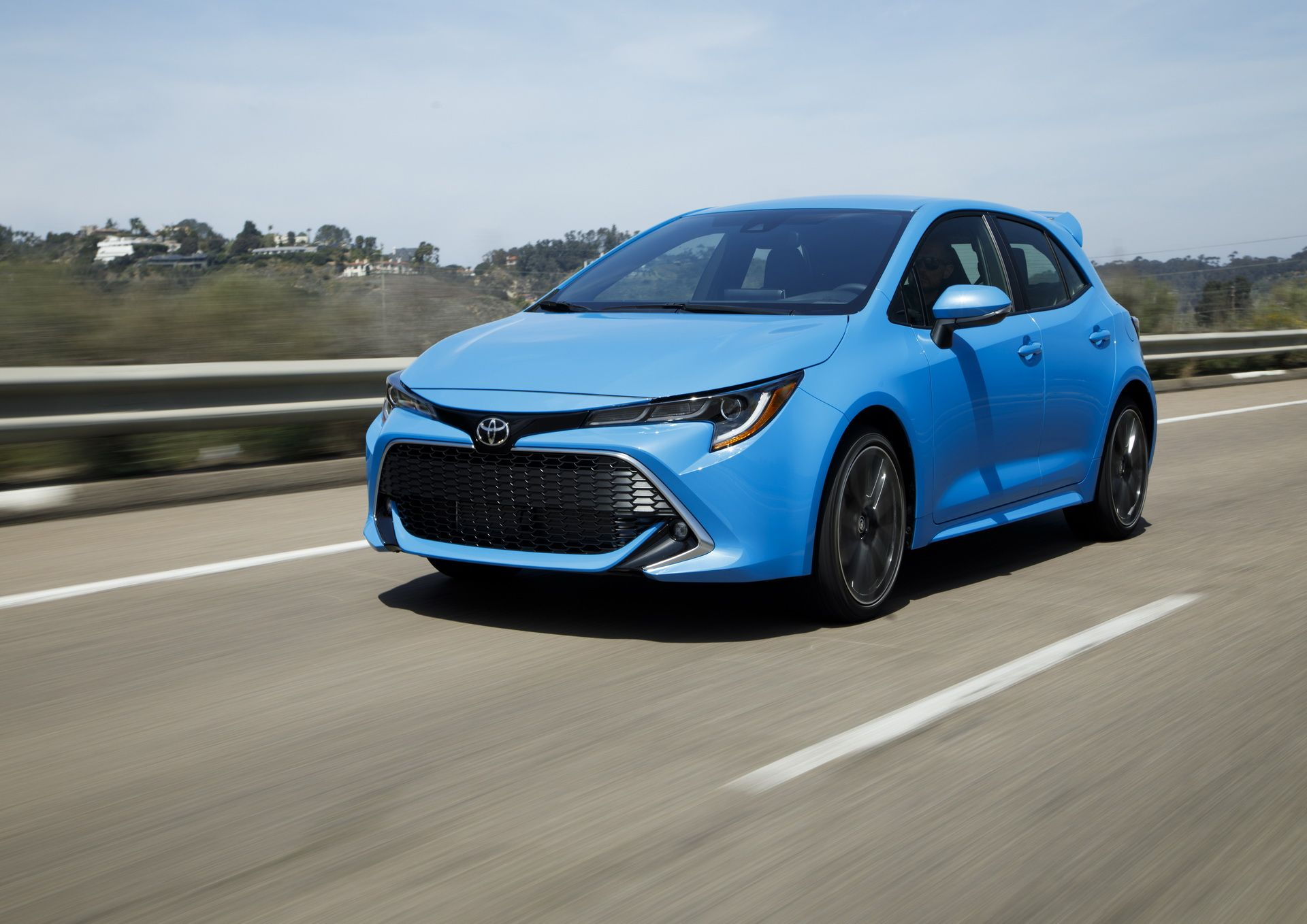 New Toyota Auris Renamed 2019 Toyota Corolla Hatchback