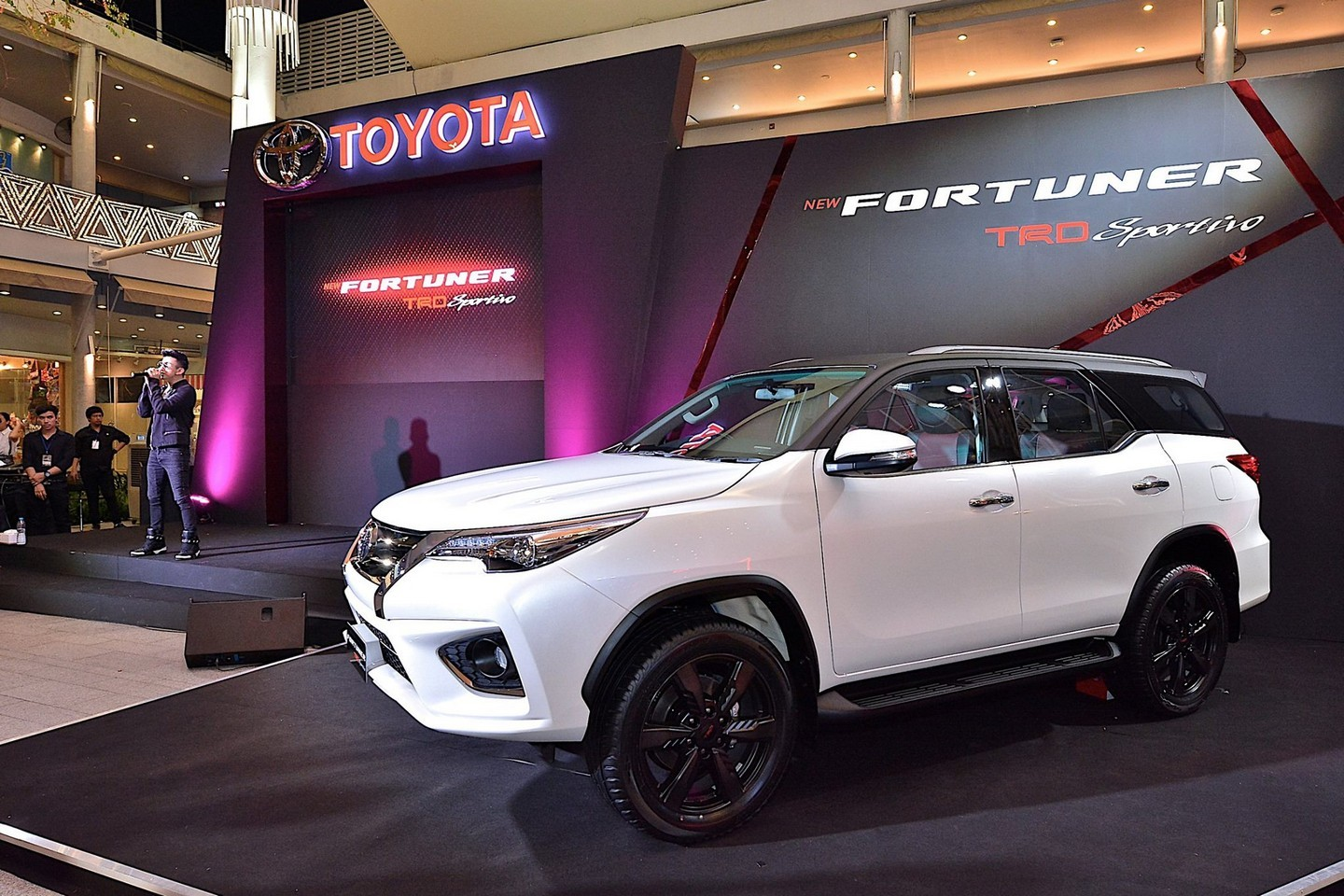 New Toyota Fortuner Trd Sportivo Is A Hilux Suv With