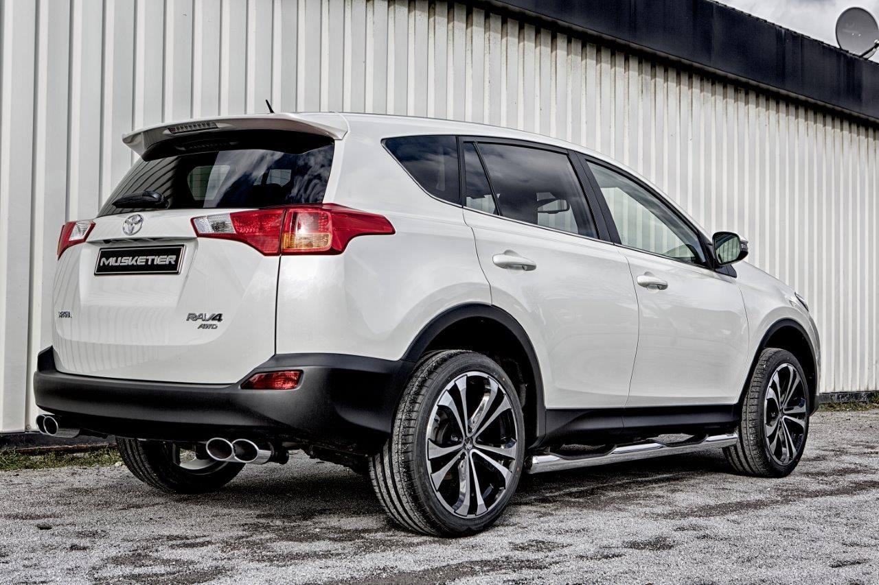 New Toyota Rav4 Gets A Tuning Package From Musketier
