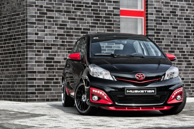 new toyota yaris tuned by musketier   autoevolution
