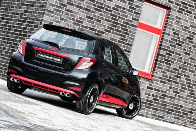 New Toyota Yaris Tuned by Musketier - autoevolution