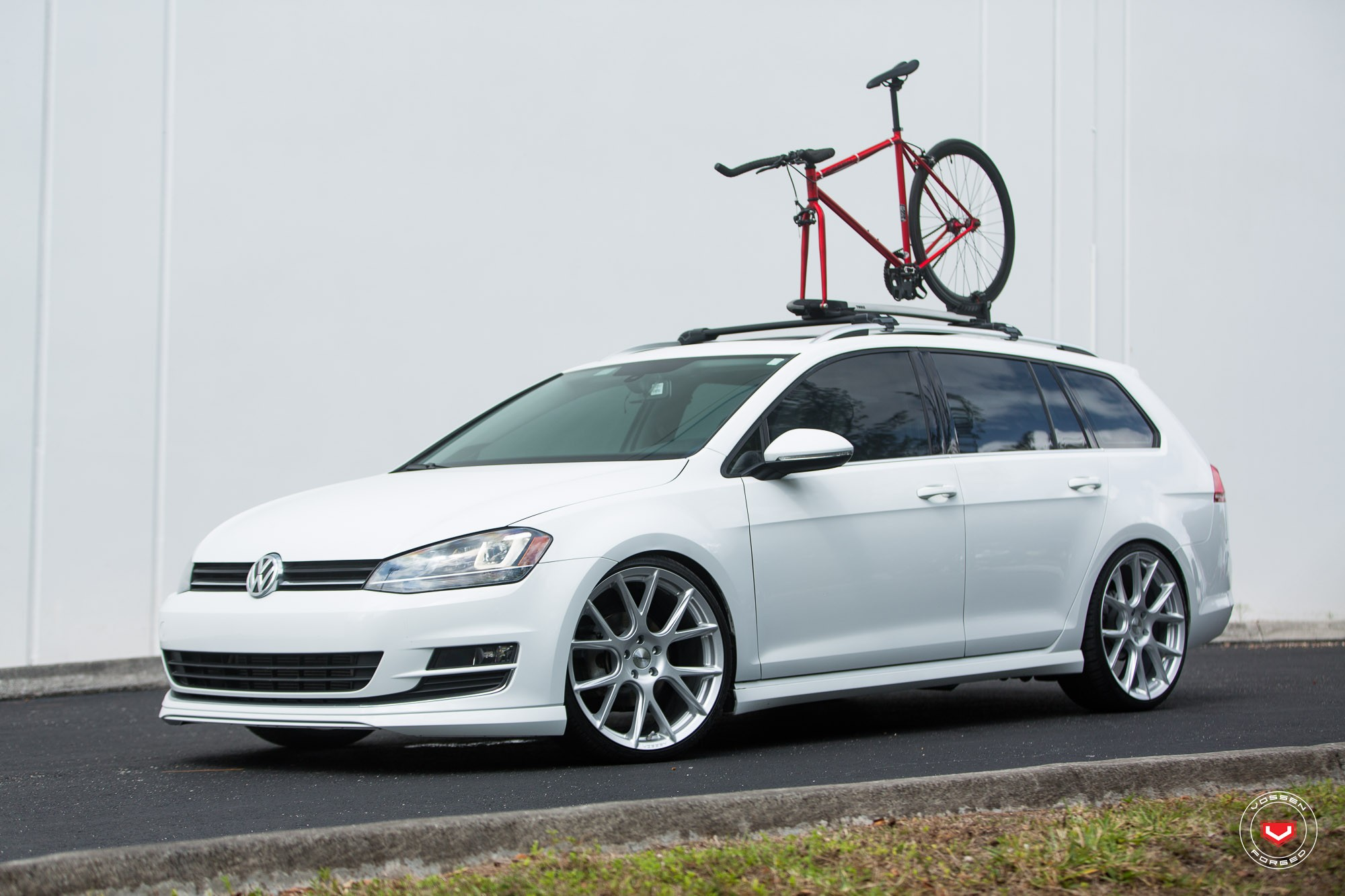 Golf Gti Mk7 Tuning >> New Volkswagen Golf SportWagen Gets Vossen Wheels - autoevolution