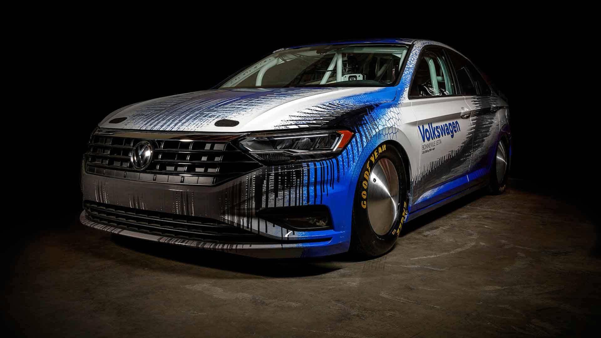 Volkswagen Of America >> 2020 Volkswagen Jetta GLI Teased By Bonneville-prepped Land Speed Record Car - autoevolution