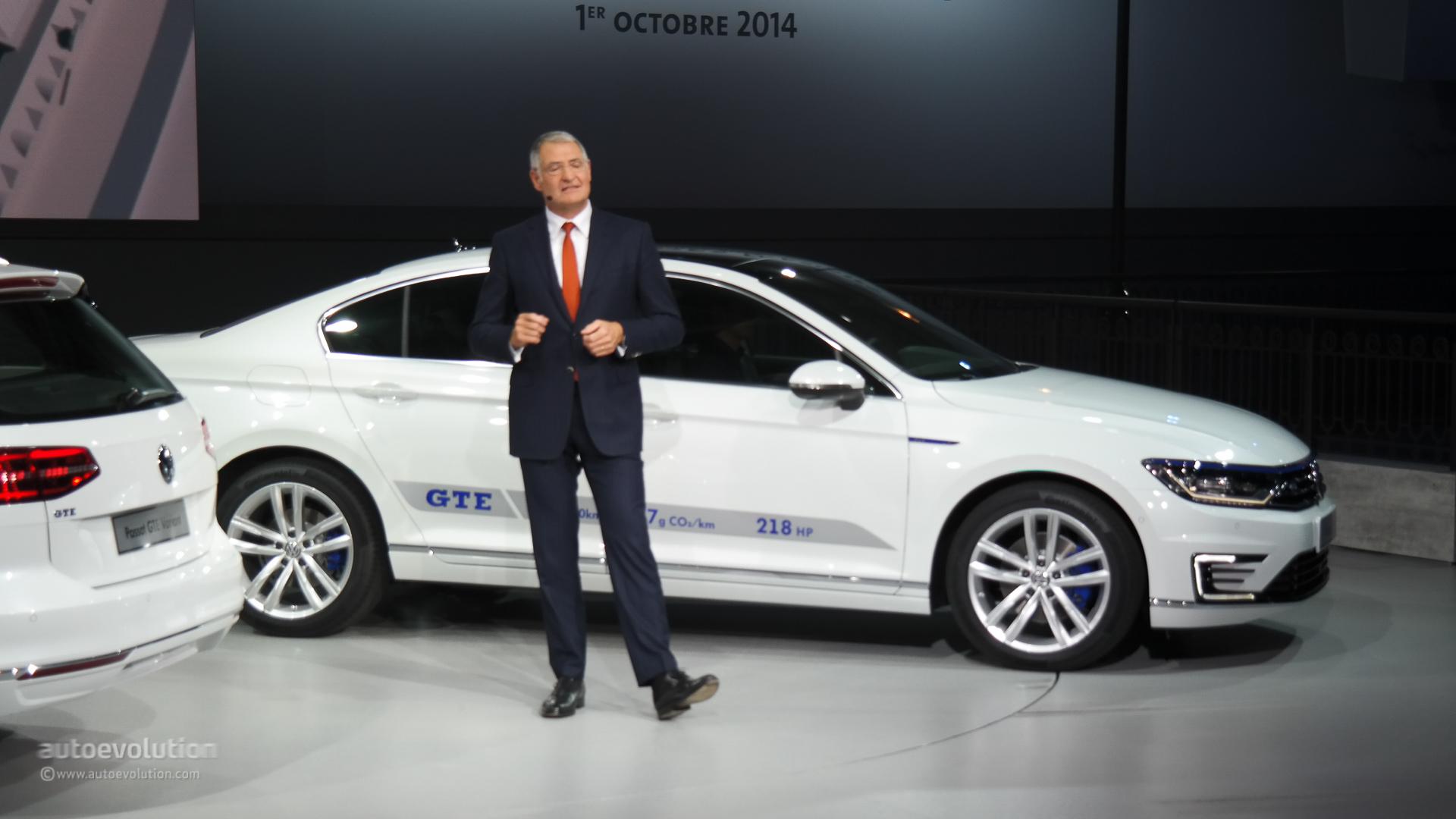 New Volkswagen Passat B8 Looks Ready To Battle The Mondeo