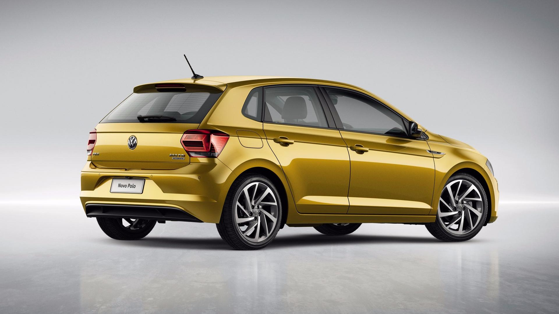 2018 volkswagen polo launched in brazil with 128 hp 1 0. Black Bedroom Furniture Sets. Home Design Ideas