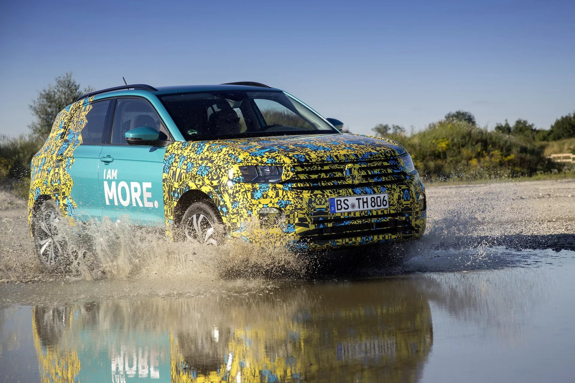 New Volkswagen T-Cross Launching in Europe Spring 2019 - autoevolution