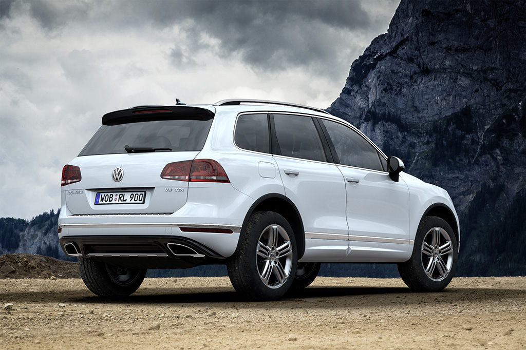 new volkswagen touareg launched in germany with tdi and hybrid engines autoevolution. Black Bedroom Furniture Sets. Home Design Ideas