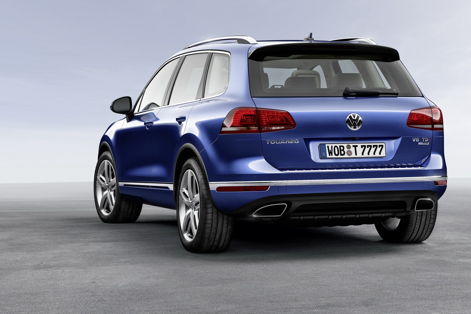 new volkswagen touareg launched in germany with tdi and. Black Bedroom Furniture Sets. Home Design Ideas