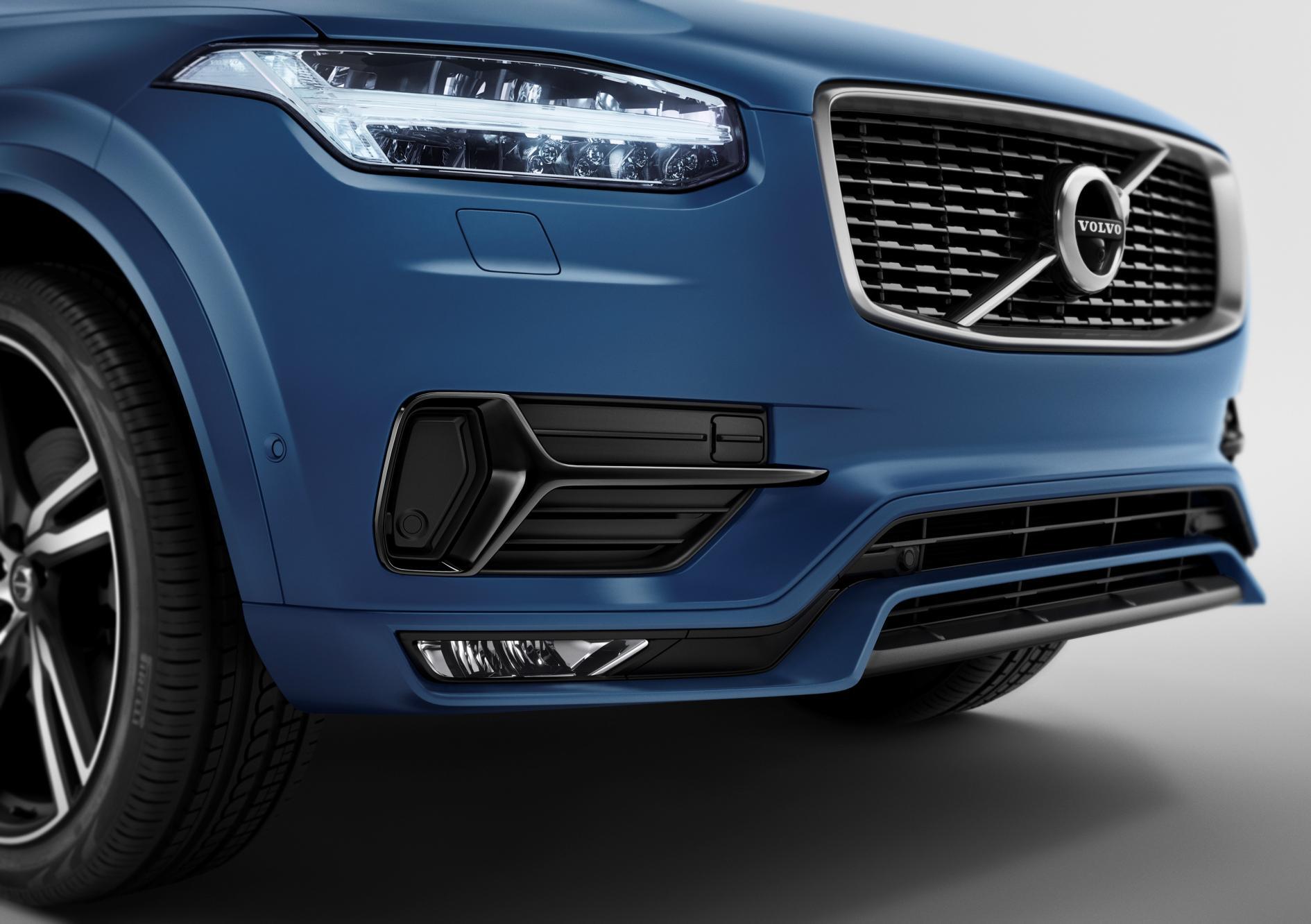 New Volvo XC90 R-Design Breaks Cover - autoevolution