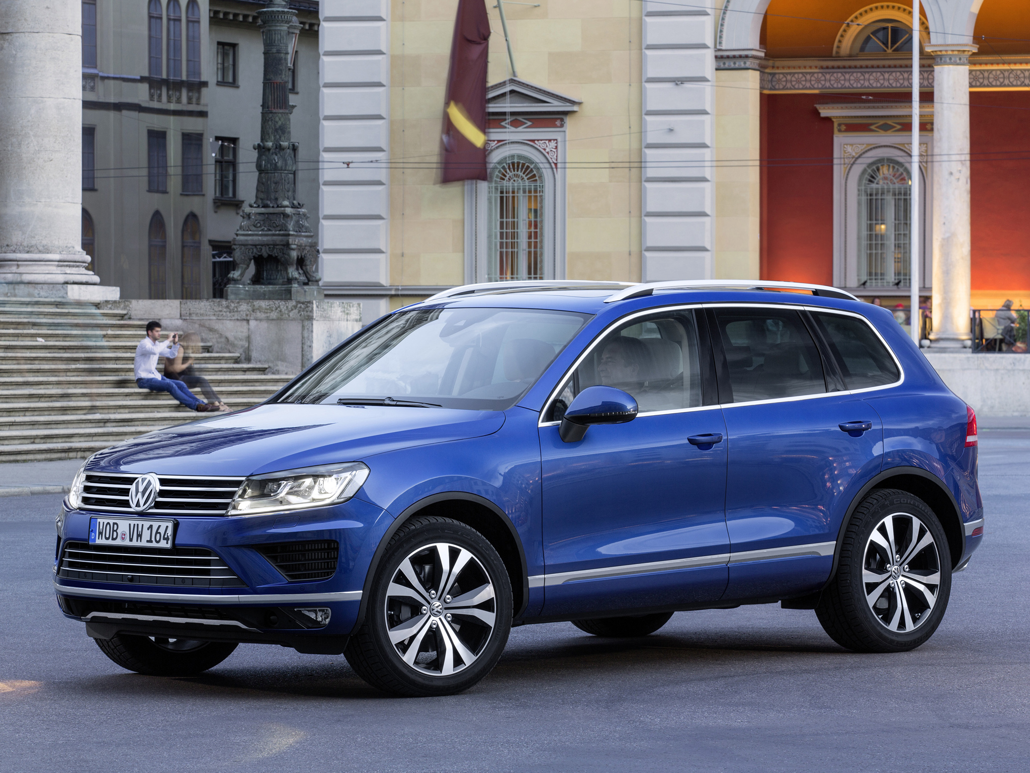 new vw touareg tdi with 262 hp consumes just 6 6 l 100km autoevolution. Black Bedroom Furniture Sets. Home Design Ideas