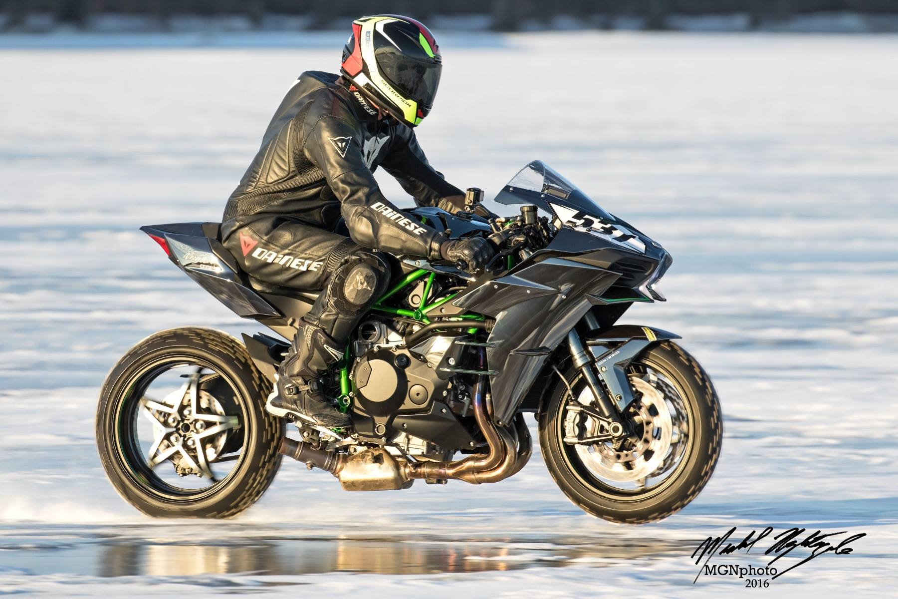 New World S Fastest Wheelie On Ice Attempt This Weekend