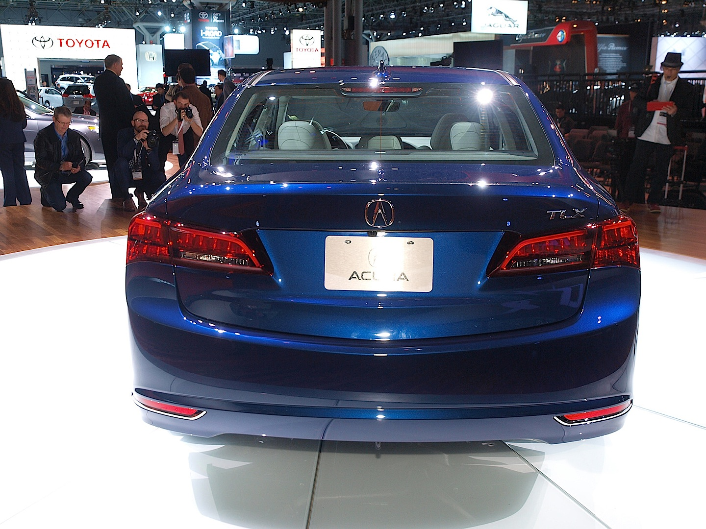 New york 2015 acura tlx replaces the tl and tsx
