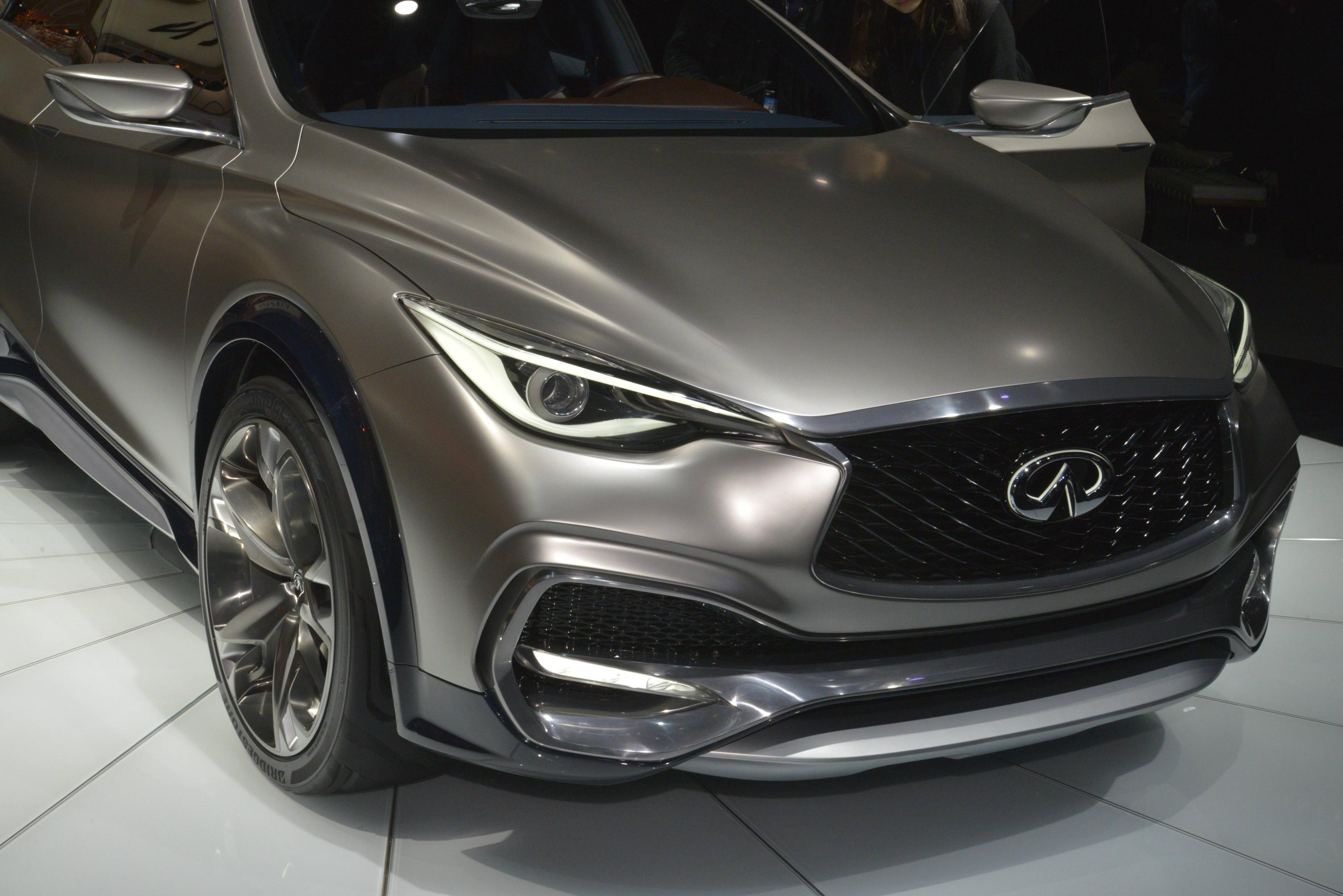 New York Infiniti Qx30 Is A City Dwelling Suv With Mercedes Tech