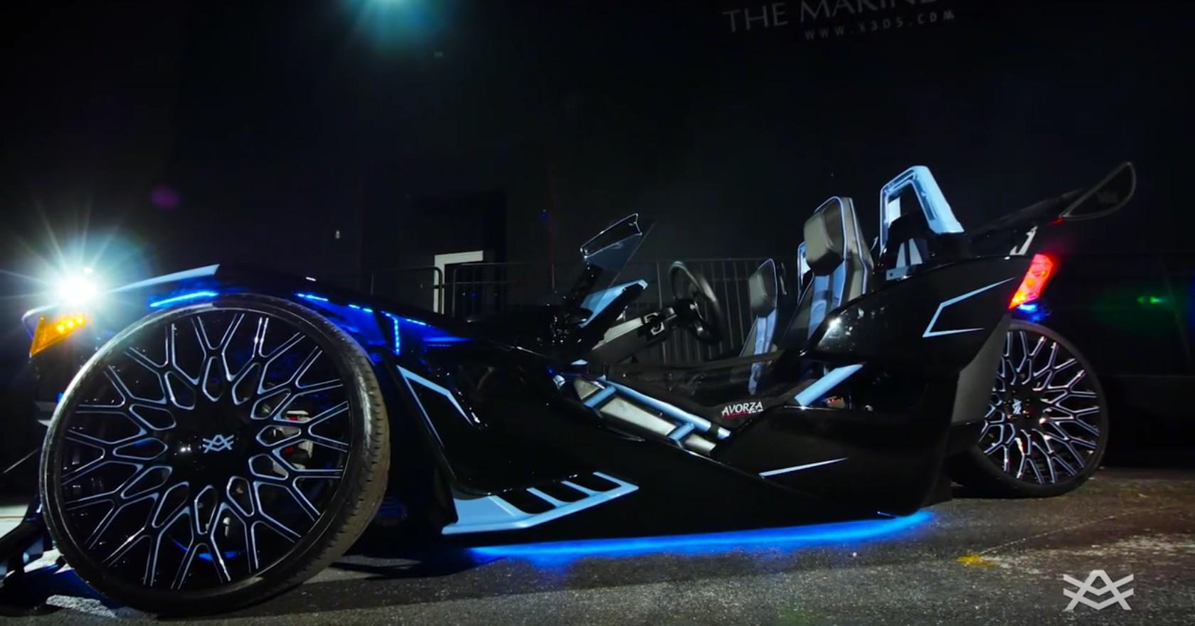 Polaris Sling Shot >> Snoop Dogg Calls His Polaris Slingshot Batman - autoevolution