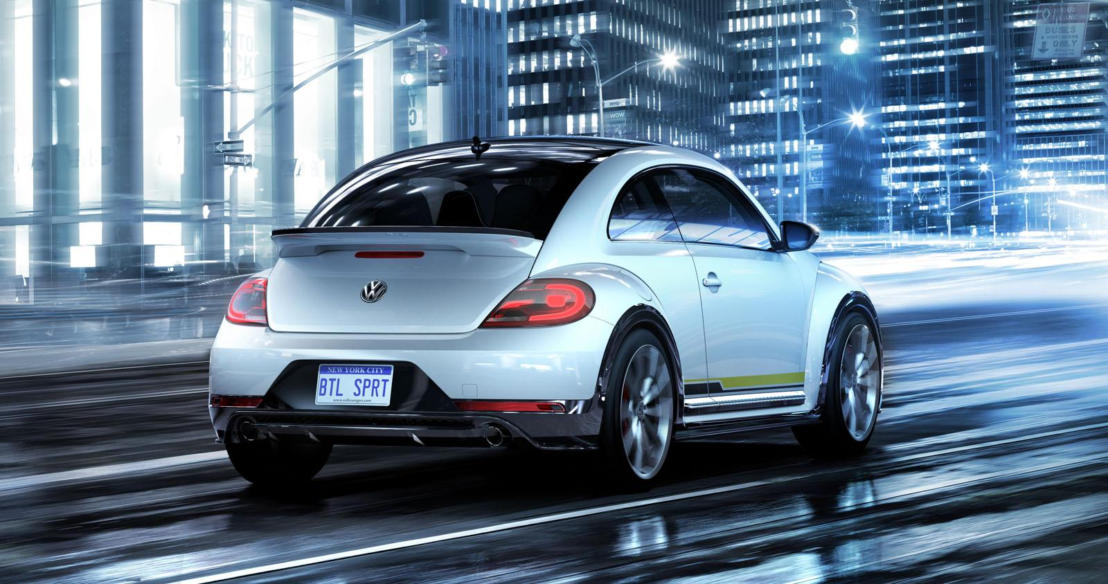 New York: Volkswagen Confirms Beetle Dune Production in 2016, Shows 4 New Concepts - autoevolution