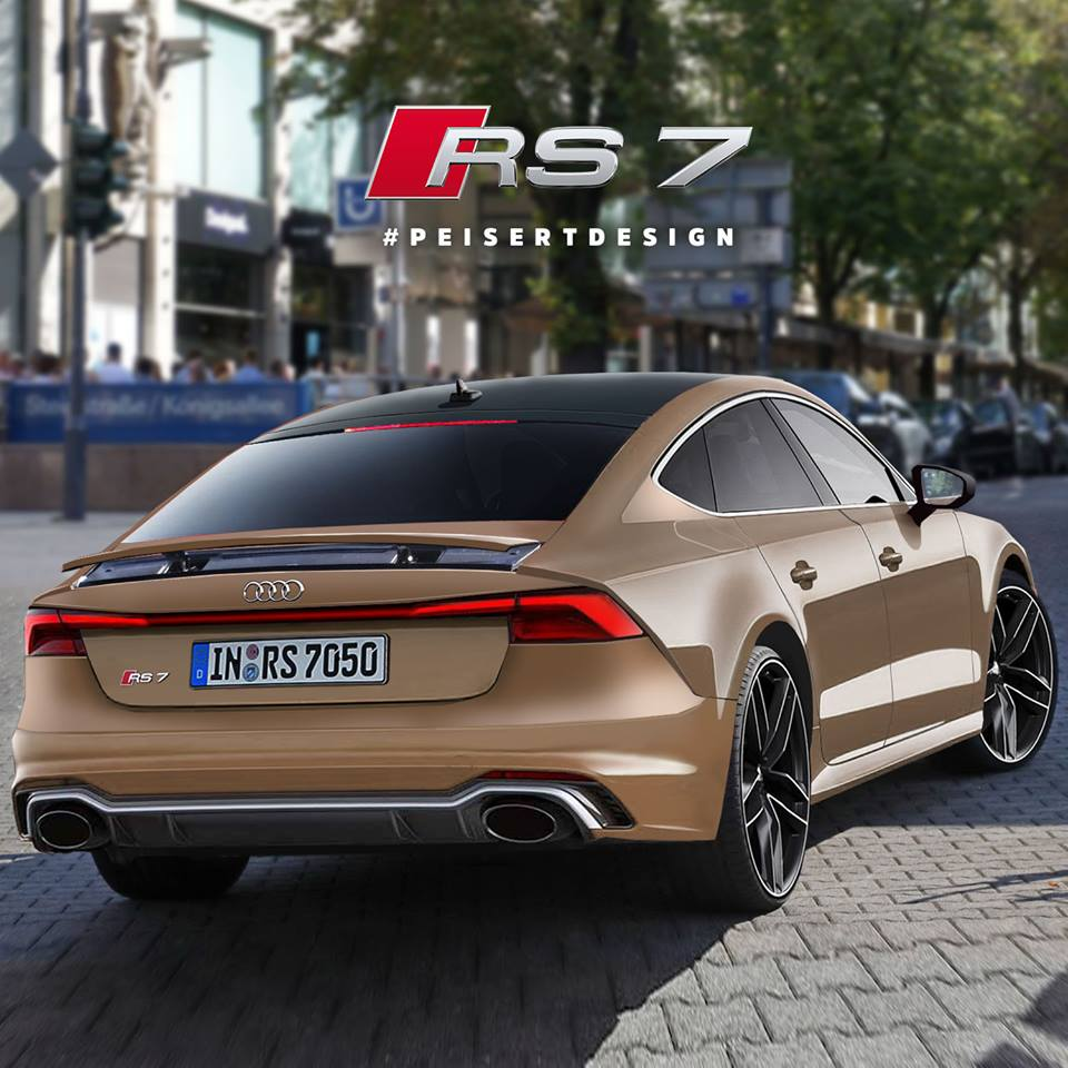 Next Audi Rs7 Rendered Based On Spyshots Looks Like A