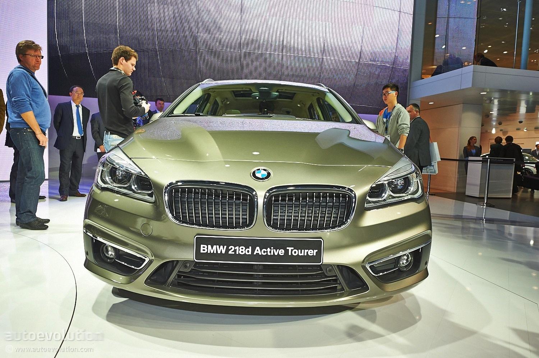 Used Bmw 5 Series >> BMW 220i, 220d and 216d Active Tourer Models Revealed - autoevolution