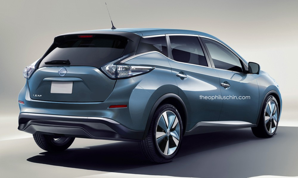 Next gen nissan leaf rendered with murano and pulsar elements autoevolution