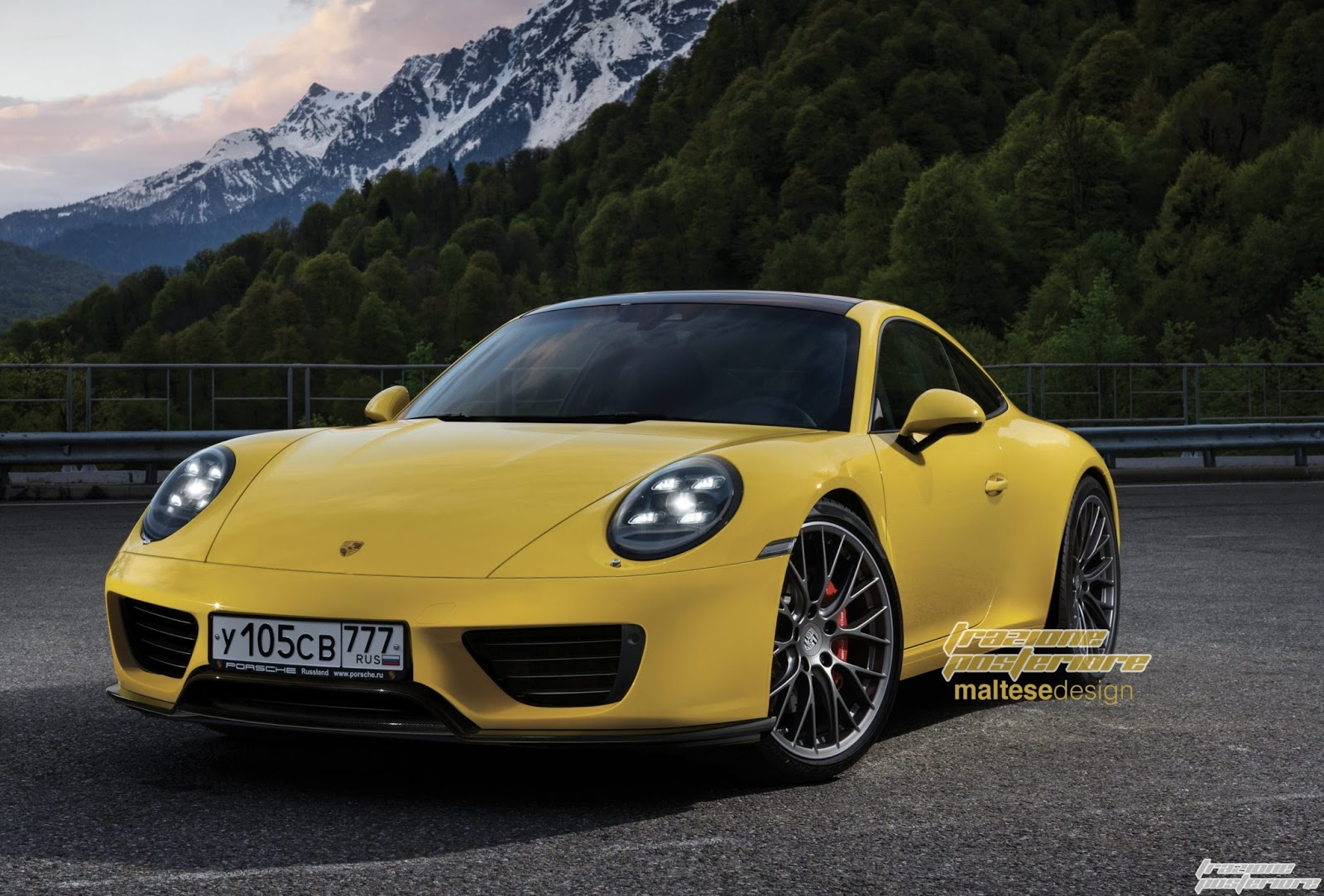 next generation 2019 porsche 911 rendering seems accurate based on the spyshots autoevolution. Black Bedroom Furniture Sets. Home Design Ideas