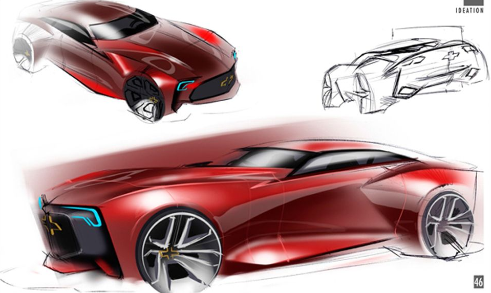 Next-Generation Chevrolet Camaro Previewed by 1:3 Scale ...