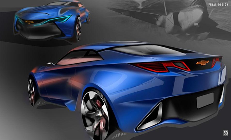 Chevrolet Camaro Concept Sketches