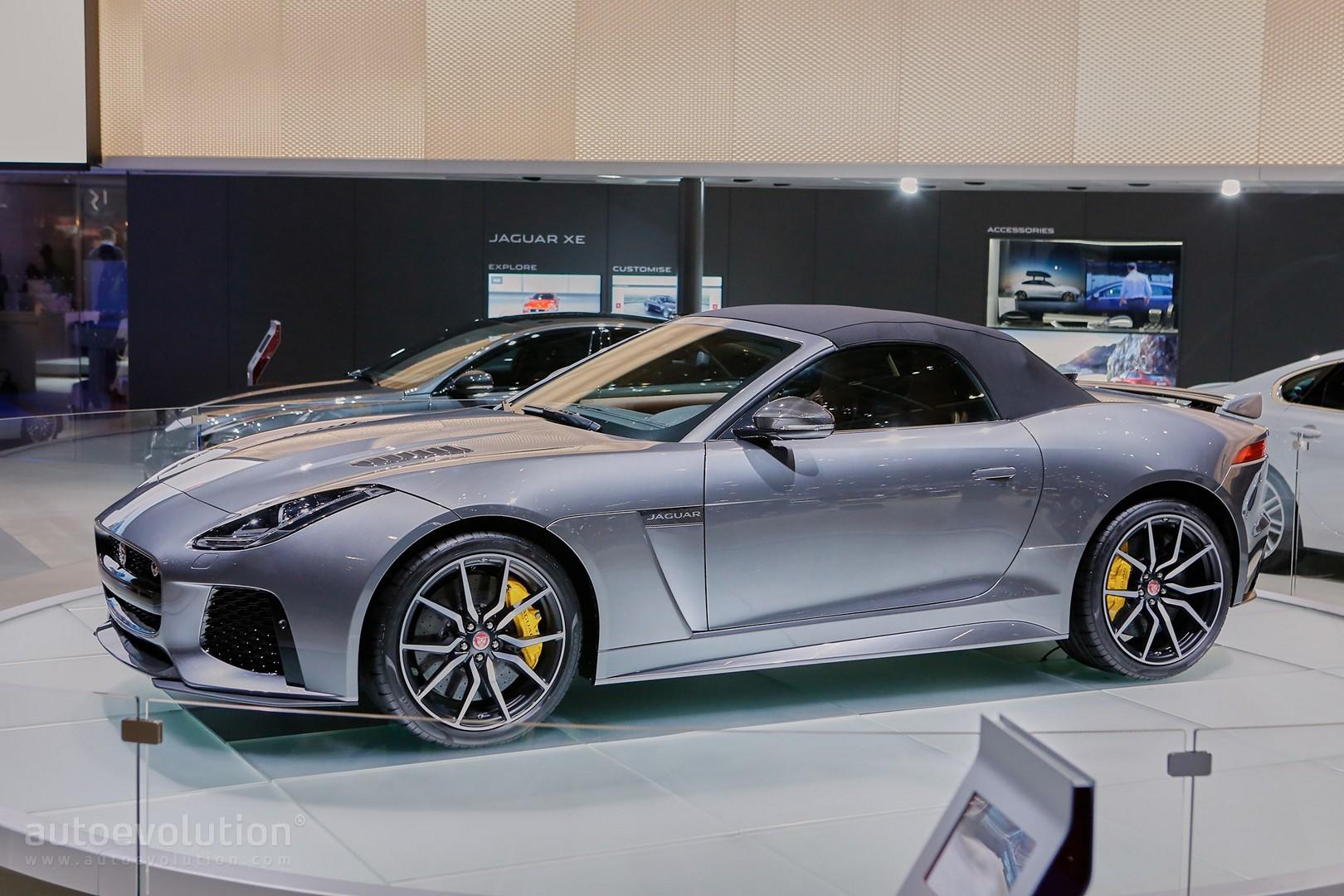Jaguar F Type SVR Coupe And Convertible Live Photos ...