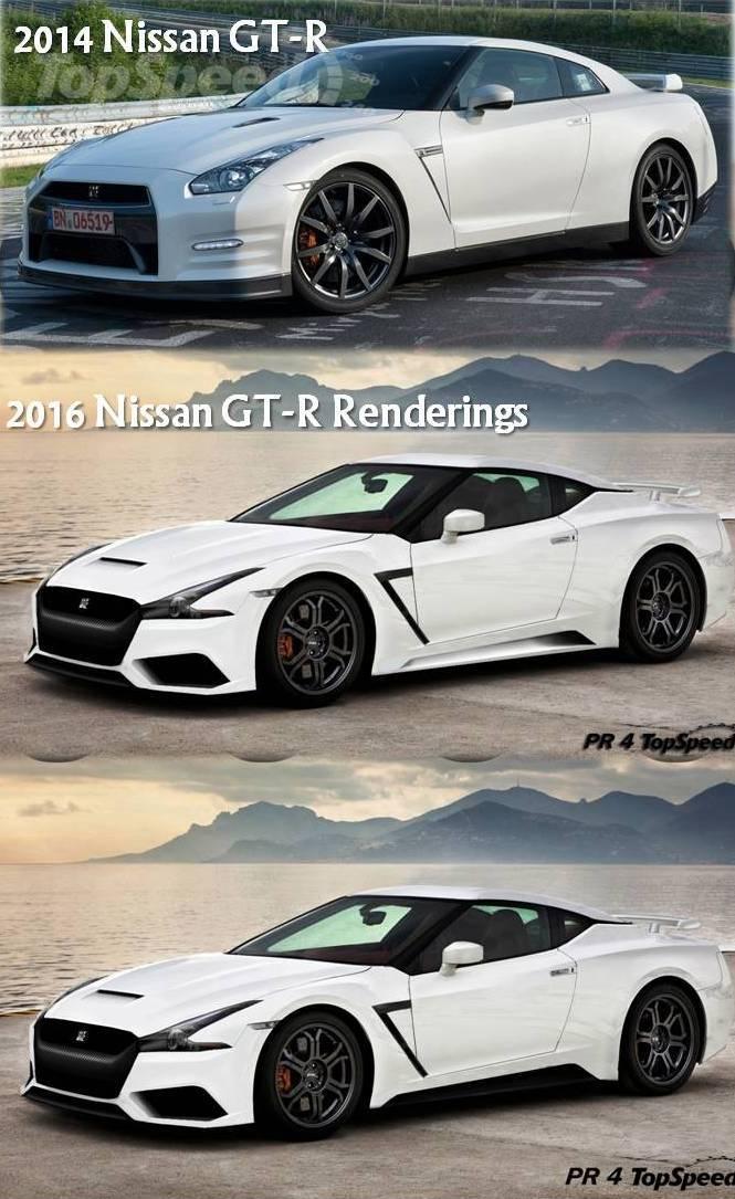Next-Generation Nissan GT-R Rendered - autoevolution