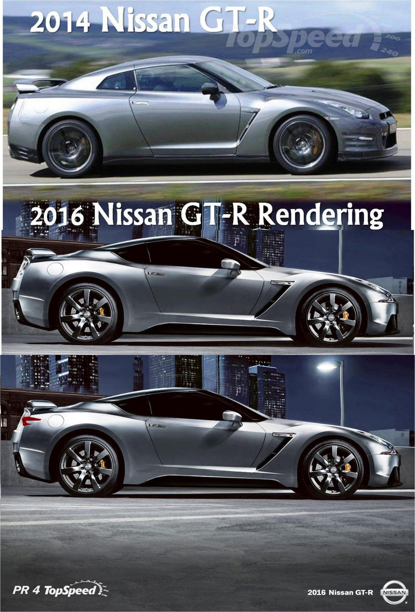 Next-Generation Nissan GT-R Rendered - autoevolution