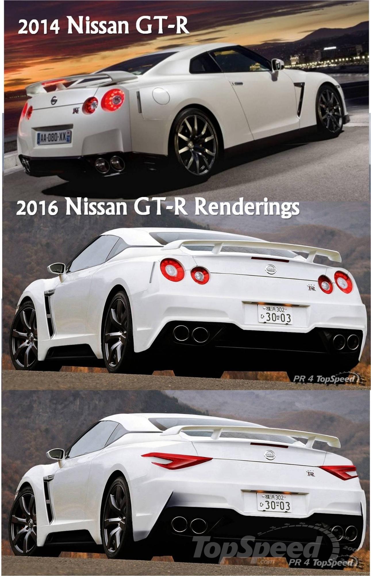 next-generation nissan gt-r rendered
