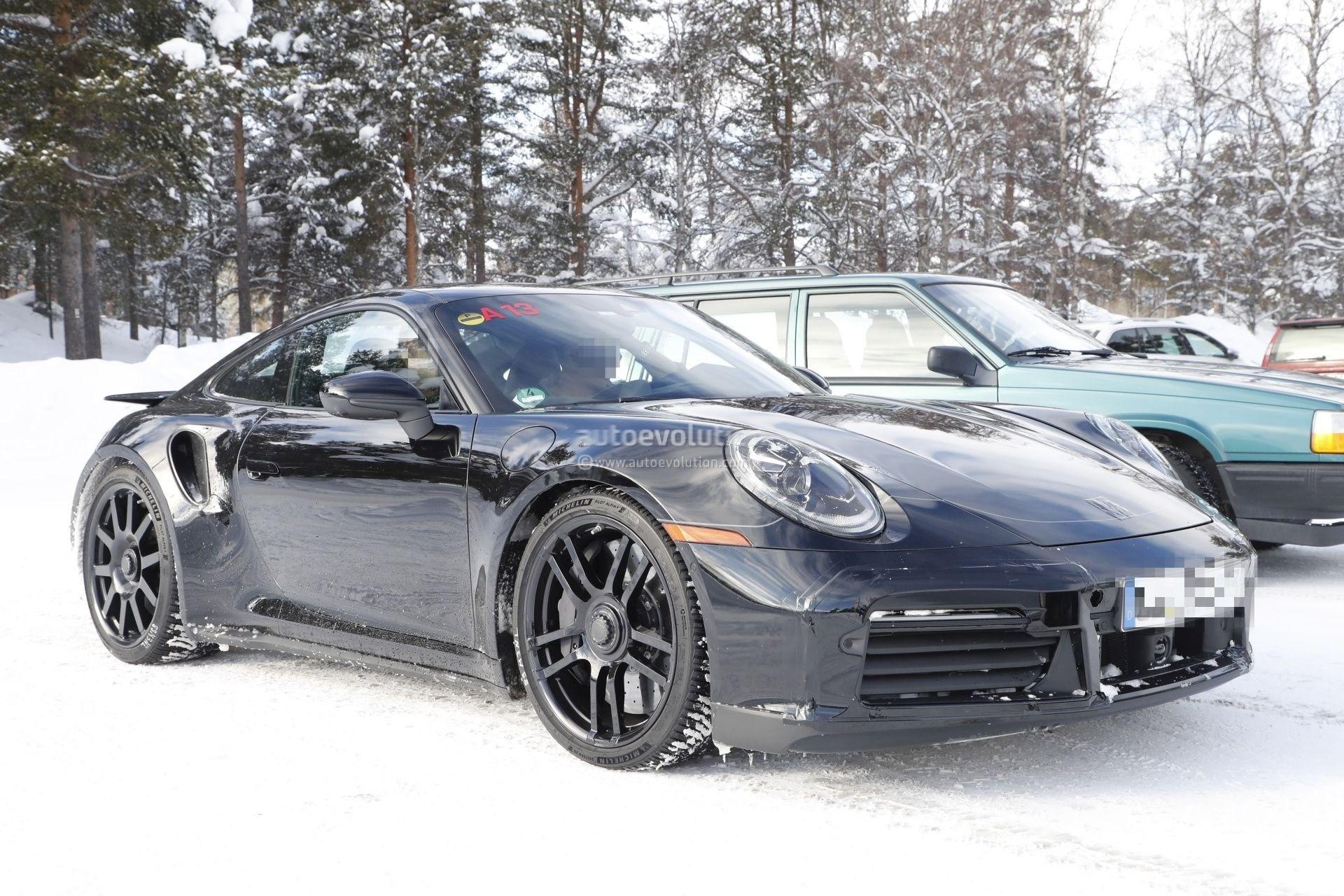 Spyshots Next Generation Porsche 911 Gt3 992 Won T Go