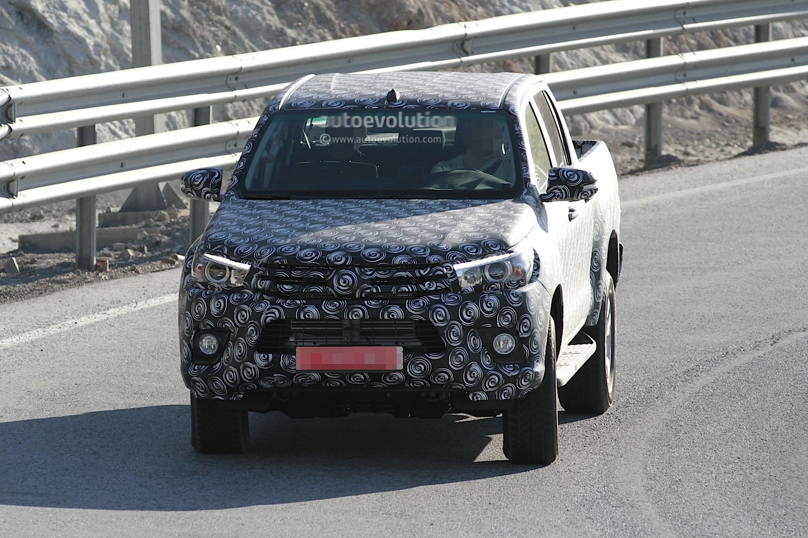 Next Generation Toyota Hilux Prototype Caught Testing ...